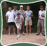 team buiding petanque