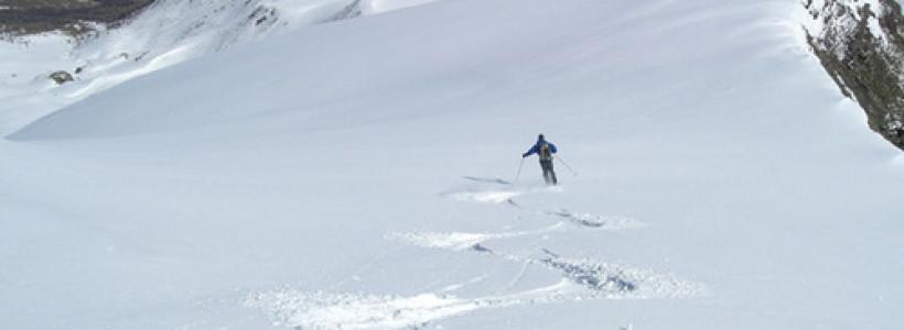 descente en ski