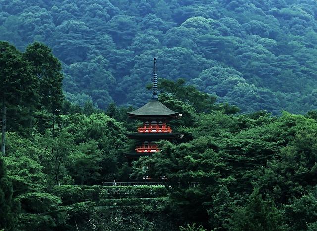 japon temple