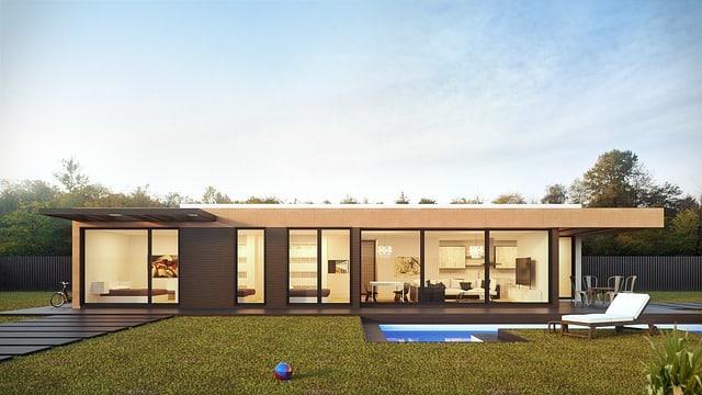 maison modulaire préfabriquée
