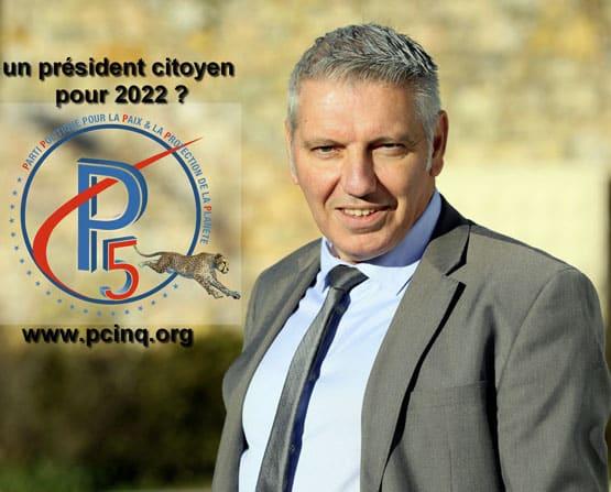 Gilles Lazzarini candidat surprise à l'élection présidentielle 2022
